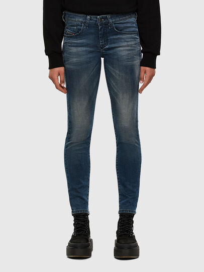 Diesel - D-Ollies JoggJeans® 069NM, Bleu moyen - Jeans - Image 1