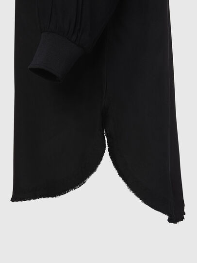 Diesel - D-SUPER-D, Noir - Robes - Image 5