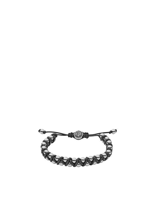 Diesel - DX1109, Gris argenté - Bracelets - Image 1