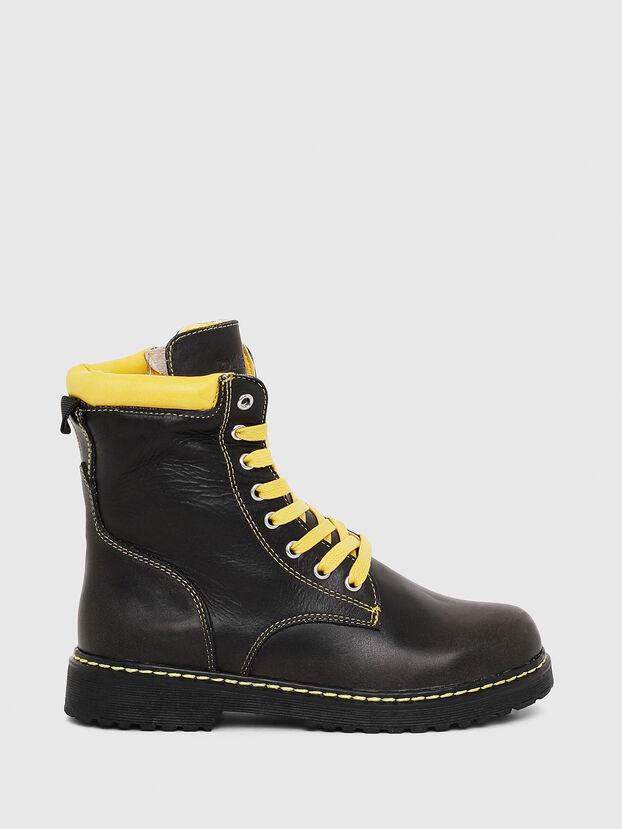 HB LACE UP 04 CH, Noir - Footwear