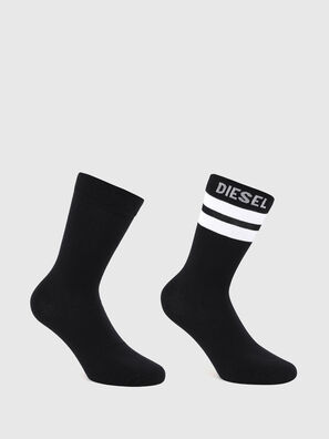 SKM-RAY-TWOPACK, Noir/Blanc - Chaussettes