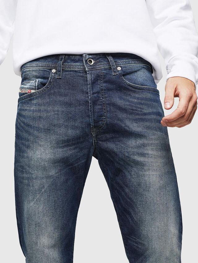 Diesel - Buster 0853R, Bleu Foncé - Jeans - Image 3