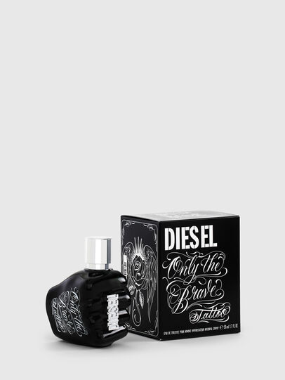 Diesel - ONLY THE BRAVE TATTOO 50 ML, Noir - Only The Brave - Image 1