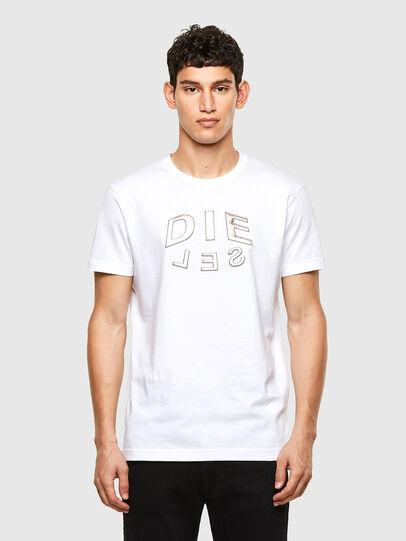 Diesel - T-DIEGOS-A1, Blanc - T-Shirts - Image 1