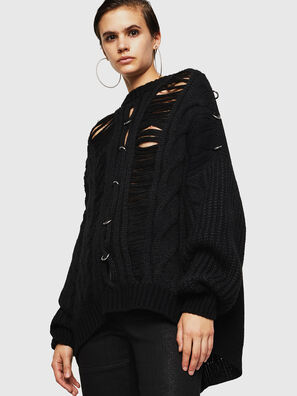 MEBLY, Noir - Pull Maille