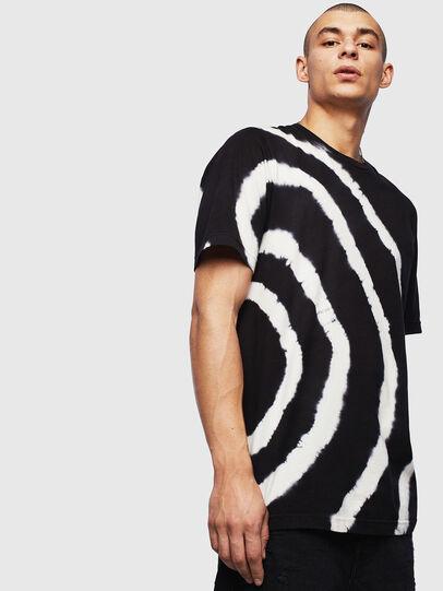 Diesel - T-JUST-T16, Noir/Blanc - T-Shirts - Image 1