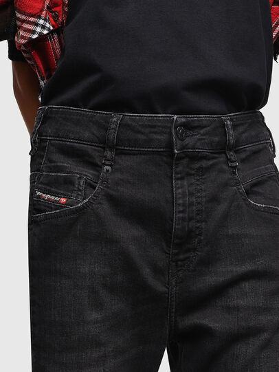 Diesel - Fayza 069BG, Noir/Gris foncé - Jeans - Image 3