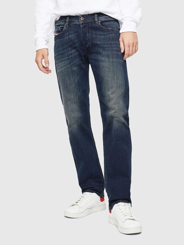 Waykee 0814W, Bleu Foncé - Jeans