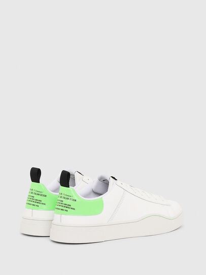 Diesel - S-CLEVER LOW LACE, Blanc/Vert - Baskets - Image 3
