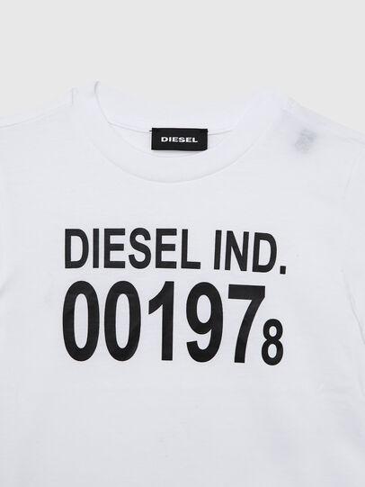 Diesel - TDIEGO001978B-R, Blanc/Noir - T-shirts et Hauts - Image 3