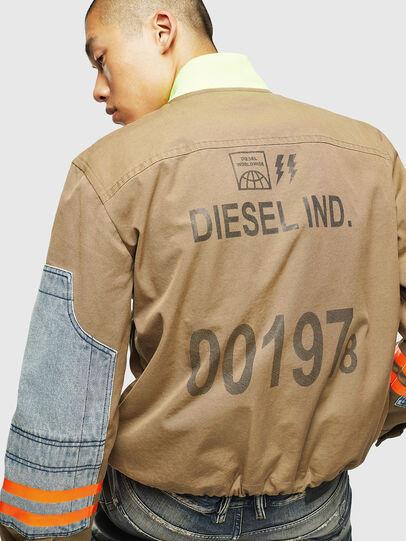 Diesel - J-STORCH, Beige - Vestes - Image 5