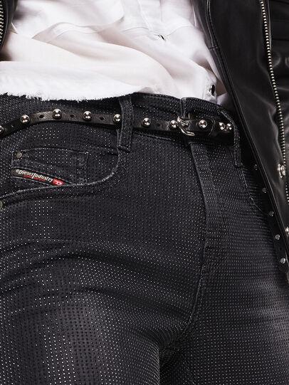 Diesel - D-Ollies JoggJeans 0093H, Noir/Gris foncé - Jeans - Image 3