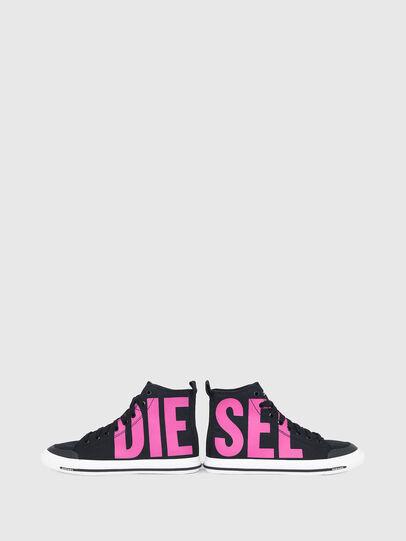 Diesel - S-ASTICO MID CUT W, Noir/Rose - Baskets - Image 4
