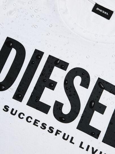 Diesel - T-DIEGO-LOGO, Blanc - T-Shirts - Image 5