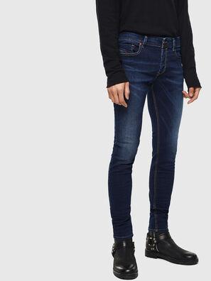Sleenker 084RI, Bleu Foncé - Jeans