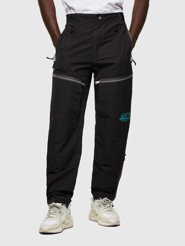 Pantalon à poches multiples label vert