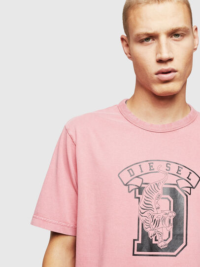 Diesel - T-JUST-B2, Rose - T-Shirts - Image 3