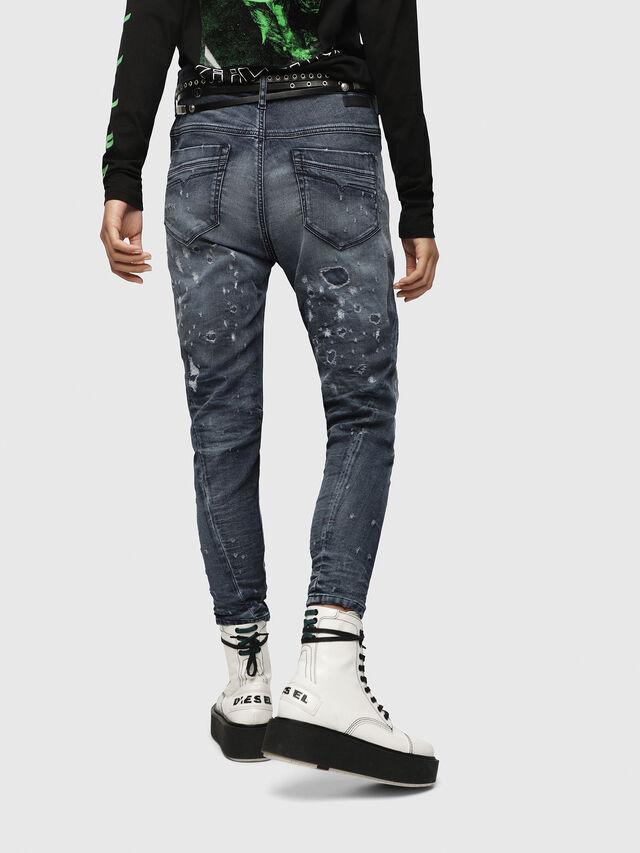 Diesel - Fayza JoggJeans 069CC, Bleu Foncé - Jeans - Image 2
