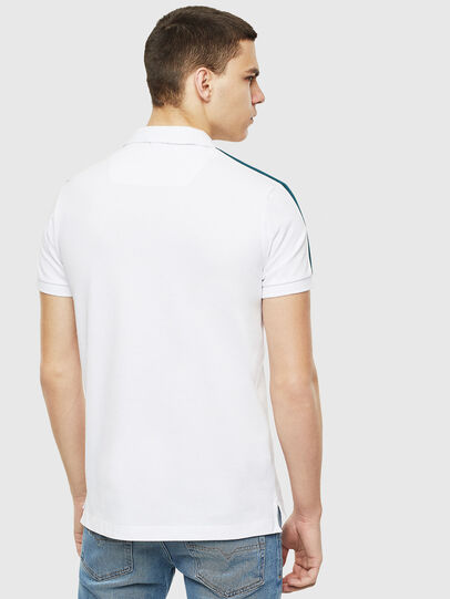Diesel - T-RALFY-S1, Blanc - Polos - Image 2