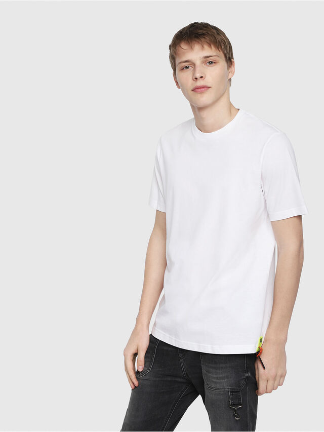 Diesel - T-JUST-Y-TRIMS, Blanc - T-Shirts - Image 1