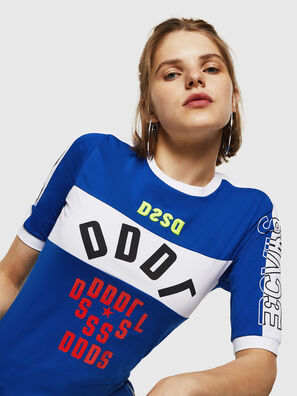 T-HEIA-B, Bleu Brillant - T-Shirts