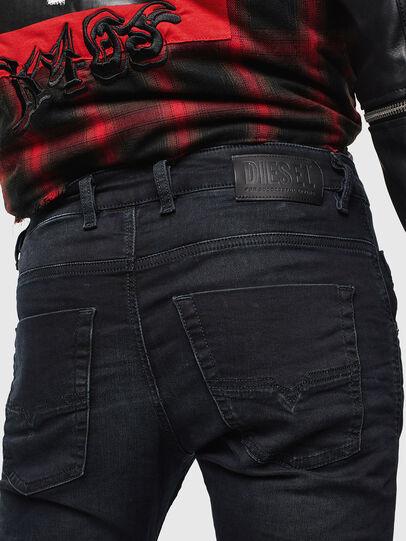 Diesel - Krooley JoggJeans 069KJ, Noir/Gris foncé - Jeans - Image 4