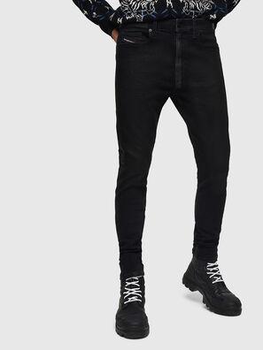 D-Amny 0890U, Noir/Gris foncé - Jeans