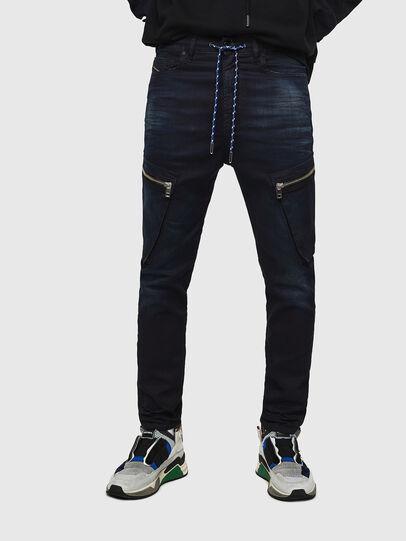 Diesel - D-Vider JoggJeans 069IC, Bleu Foncé - Jeans - Image 1