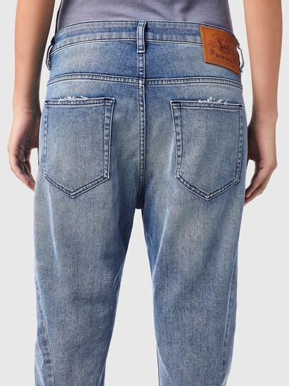 Diesel - Fayza 09B16, Bleu Clair - Jeans - Image 4