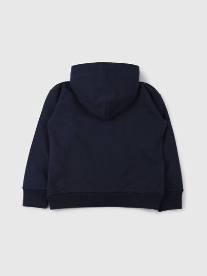 Diesel - SDIVISION OVER, Bleu Nuit - Pull Cotton - Image 2