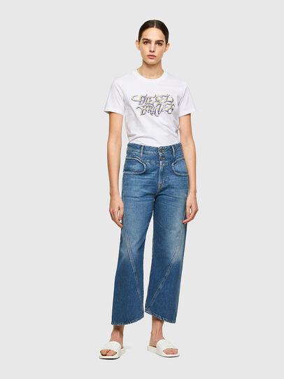 Diesel - T-SILY-K8, Blanc - T-Shirts - Image 4