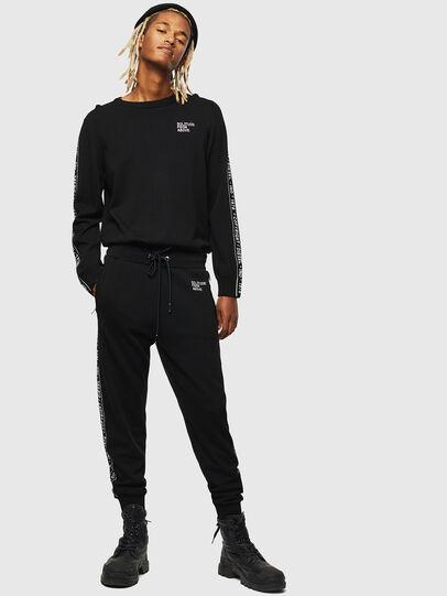 Diesel - K-SUIT-C, Noir - Pantalons - Image 1