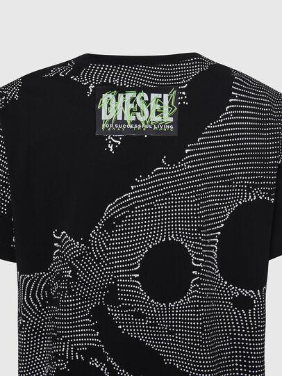 Diesel - T-DARIA-E4, Noir - T-Shirts - Image 3