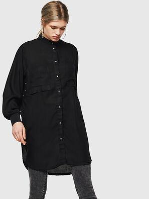 D-SUPER-D, Noir - Robes