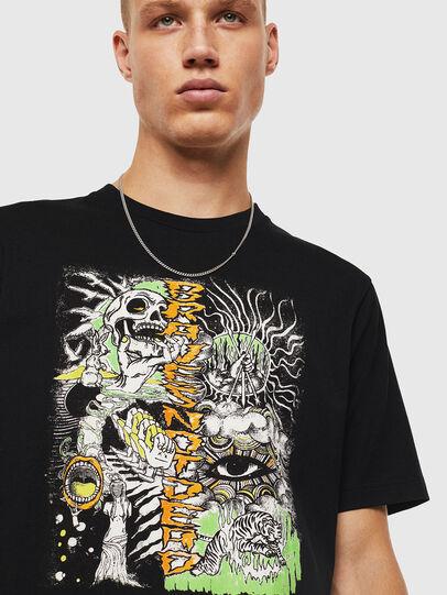 Diesel - T-JUST-J13, Noir - T-Shirts - Image 4