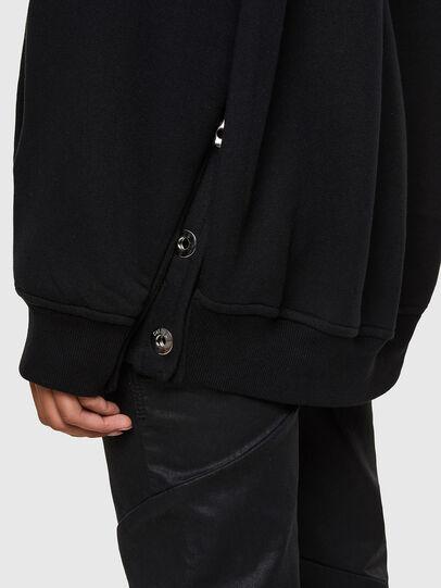 Diesel - F-GLORIOUS, Noir - Pull Cotton - Image 4