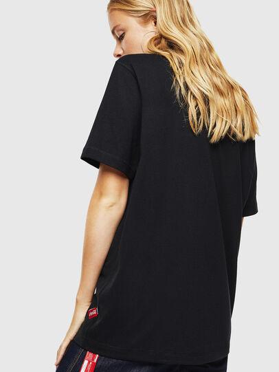 Diesel - CC-T-JUST-COLA, Noir - T-Shirts - Image 4