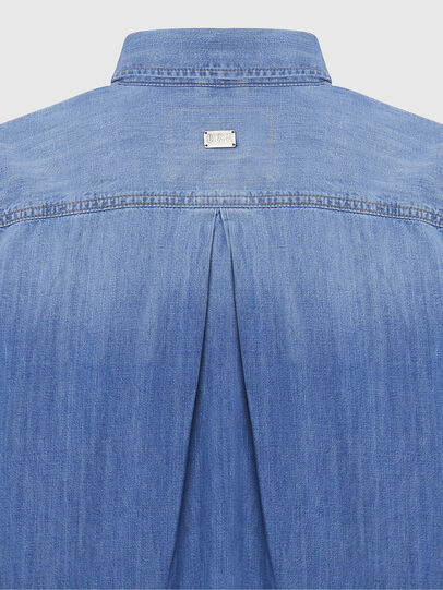 Diesel - DE-BLANCHE, Bleu Clair - Robes - Image 5