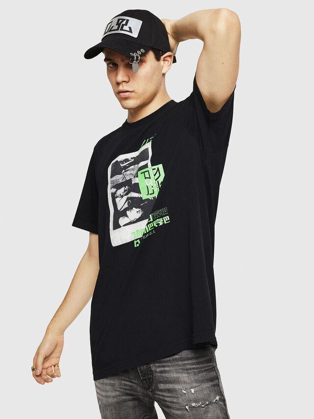 Diesel - T-JUST-Y21, Noir - T-Shirts - Image 1