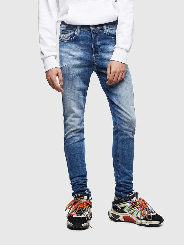 D-Istort 009CJ, Bleu moyen - Jeans