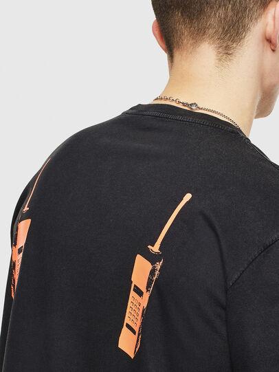 Diesel - T-JUST-T12, Noir - T-Shirts - Image 5