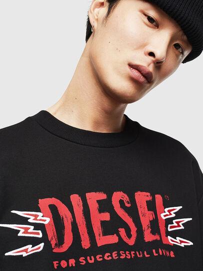 Diesel - CL-SNOR-LITMA, Noir - Pull Cotton - Image 3