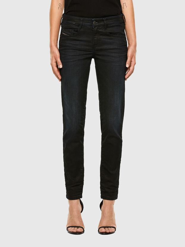 D-Ollies JoggJeans 069NY, Bleu Foncé - Jeans