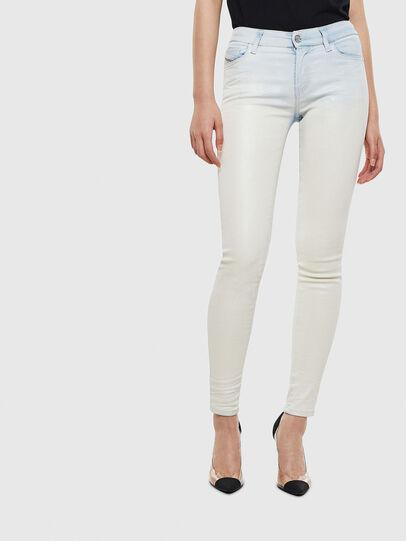 Diesel - Slandy 009AV, Bleu Clair - Jeans - Image 1