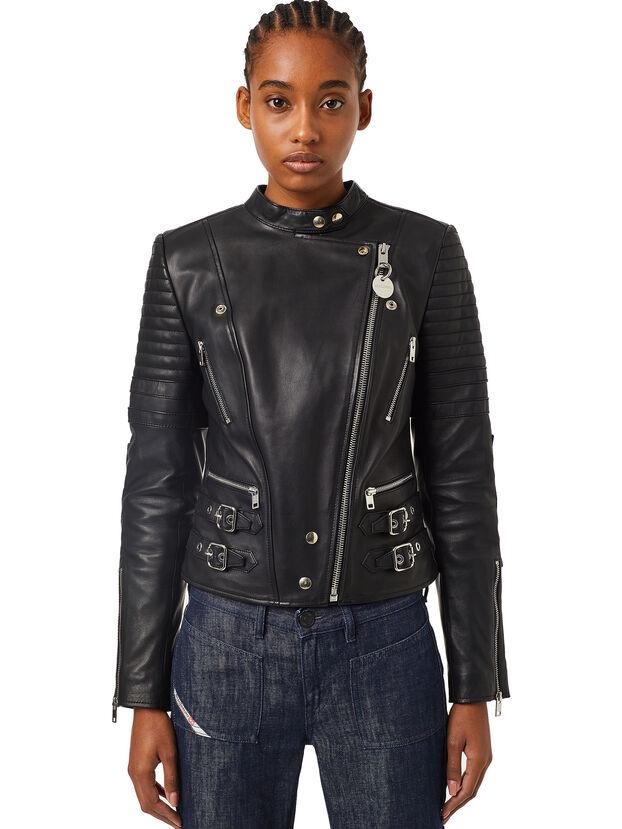 L-IGE-NEW, Noir - Vestes de cuir