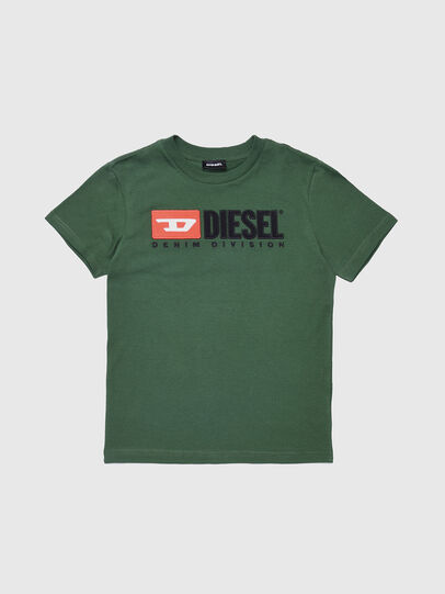 Diesel - TJUSTDIVISION, Vert Bouteille - T-shirts et Hauts - Image 1