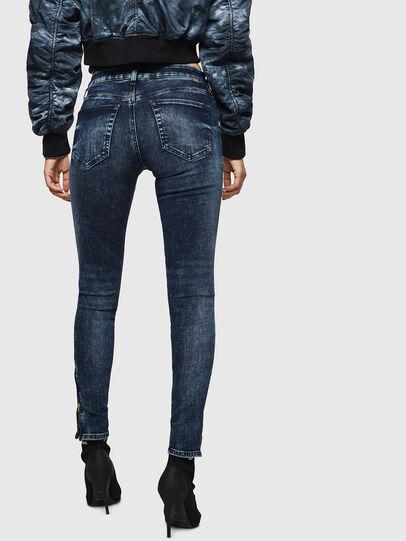 Diesel - Slandy Zip 069GW, Bleu Foncé - Jeans - Image 2