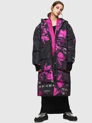 W-DORYN-B, Noir/Rose - Vestes d'hiver