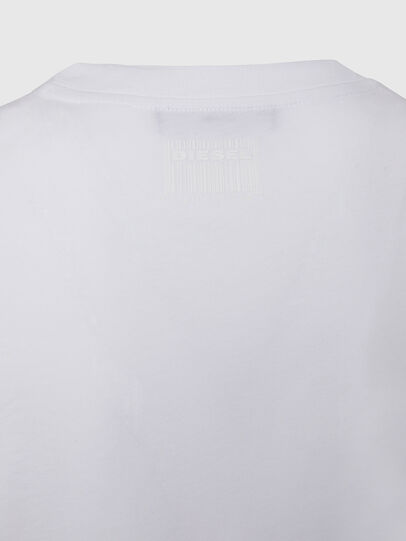 Diesel - T-SILY-E50, Blanc - T-Shirts - Image 4