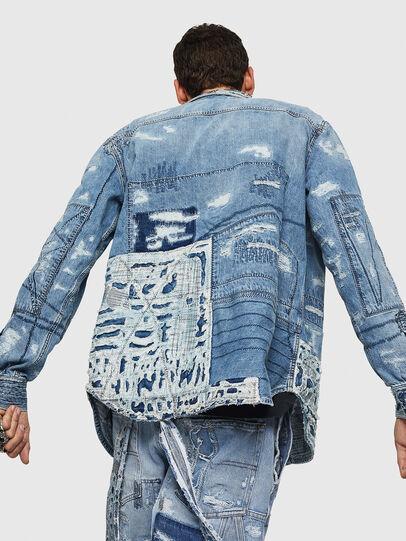 Diesel - D-HISAKY-SY, Jean Bleu - Chemises en Denim - Image 2